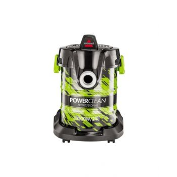 Bissell Power Clean Drum Vacuum Wet & Dry 1500W 21L Green 2026E