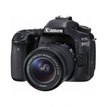 Canon 80D Kit With 18-55Mm Lens - 2CAN80DKIT