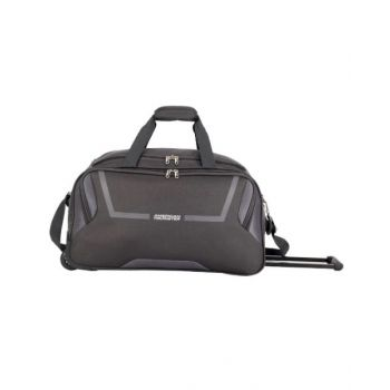 American Tourister Cosmo Duffle Bag with Wheels Grey 55 cm - AT261521