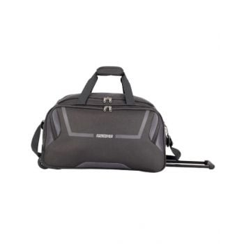 American Tourister Cosmo Duffle Bag with Wheels Grey 65 cm - AT261522