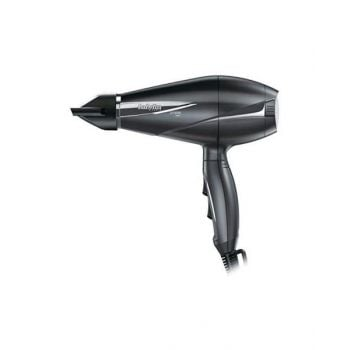 Babyliss 2100W Ionic 6 Temperatures & Speed 6Mm Nozzle, Grey - Bab6609Sde