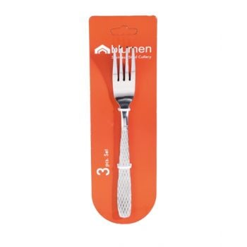 Blumen Dinner Fork Set 136 3 Pcs	   Bcdf1363P