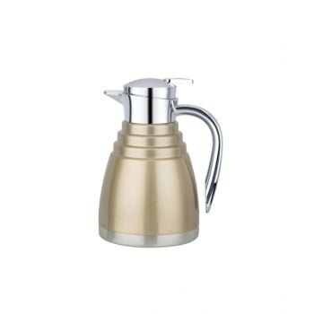 Blumen Steel Flask 1.0L Gold Bfyj5710G