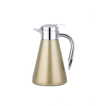 Blumen Steel Flask 1.0L Gold Bfyj6711G