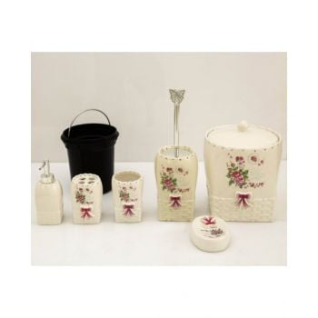 Blumen Bathroom Set  6 Pcs - Bkh17001