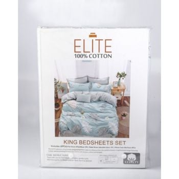 ELITE BED SHEET KING 6 PCS BPBSELK6P