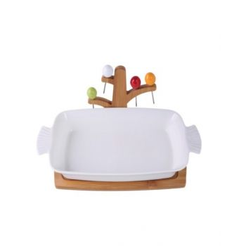 Blumen Serving Dish - BPJ03051
