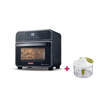 Power MF Air Fryer Master Chef Pro 15L PMFAF150FA and Tefal Manual Chopper 500 Ml Tfk1330404 BUNPMFAF150FA