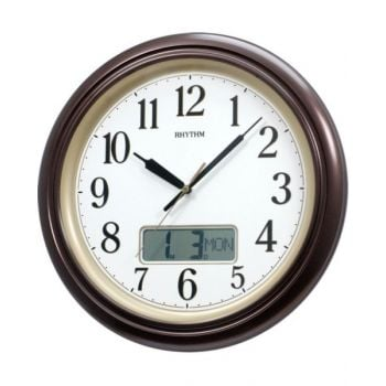 Rhythm Quartz Wall Clock -Cfg714R06