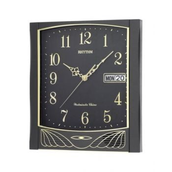 Rhythm Wall Clock - Cfh104-Nr02