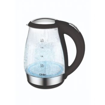 Clikon 1.7 Liter Electric Kettle Glass Body With Led CK5128