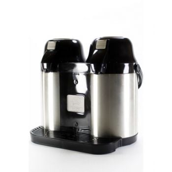 5.0LT, STAINLESS STEEL DOUBLE AIRPOT VACCUM FLASK BLACK CKR2027
