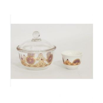 Dimlaj Cawa Cup & Sugar Bowl Shams Dj41660