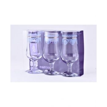 Dimlajstemware Glass Set Palette Gold Dm42538