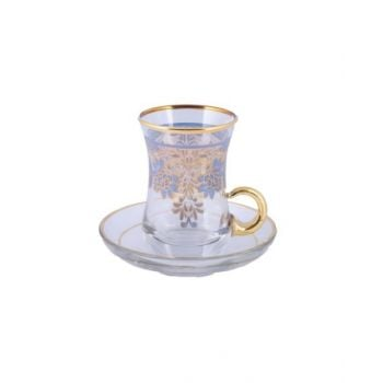 Enesco12P Tea Set Zambak Blue-62561K54201