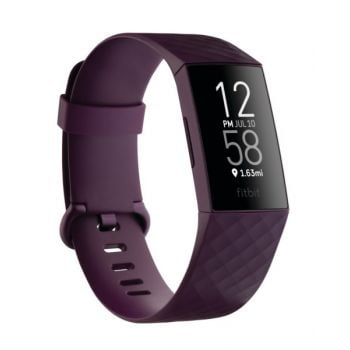 Fit Bit Charge 4 NFC Rosewood Smart Watch FB8038687