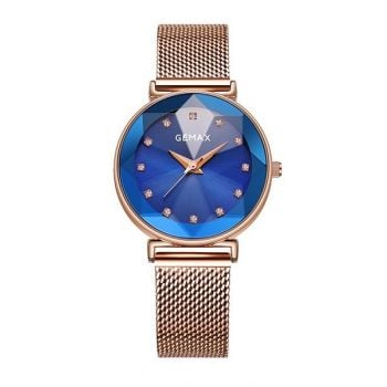 Ladies Watches	Gemax Watch Ladies W/ Bracelet - Gm9094Cldl