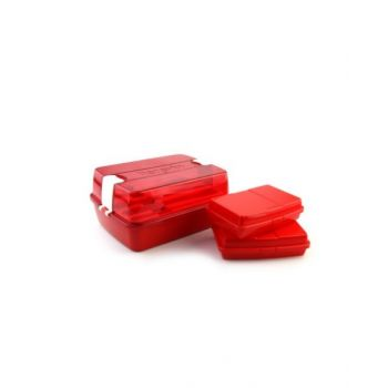 Herevin Maxx 18 Piece Lunch Box, Red - 161275-001