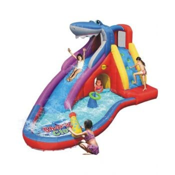 Happy Hop Sharks Club Wet and Dry Water Slide 450 x 320 x 240 cm HH9417