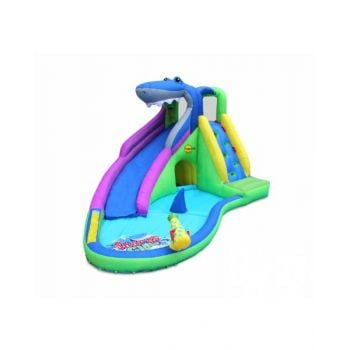 Happy Hop Sharks Club Wet and Dry Water Slide 450 x 320 x 240 cm HH9417N