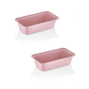 Korkmaz Loaf Cake Pan Torta Mini 2Pcs Kor765