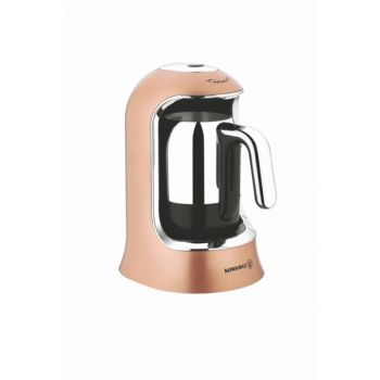 Korkmaz Coffee Maker Kahvekolik Rg/Chrome Kor86006