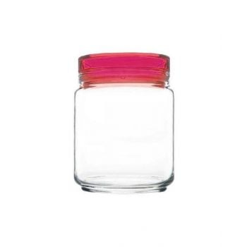Luminarc Jar With Pink Lid 750 Ml - L8123