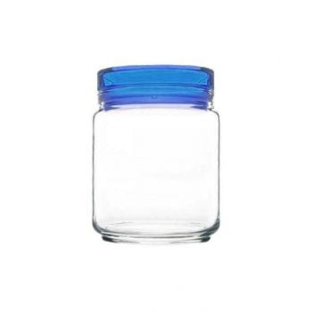 Luminarc Jar With Blue Lid - L8338