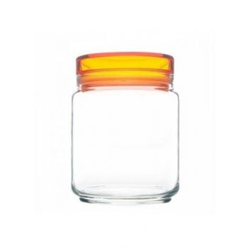 Luminarc Jar+Orange Lid 0.75L L8340