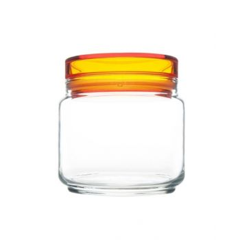 Luminarc Jar With Orange Lid - L8342