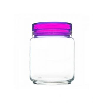 Luminarc Jar With Purple Lid 750 Ml - L8344