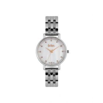 Lee Cooper Mother Of Pearl Dial Analog Womens Stainless Steel Watch - Lc06627.320