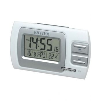 Rhythm Digital Alarm Clock - Lct074 Nr03