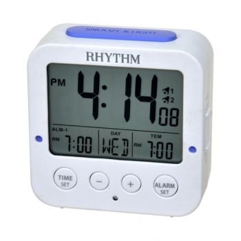 Rhythm Digital Alarm Clock - Lct082-Nr03