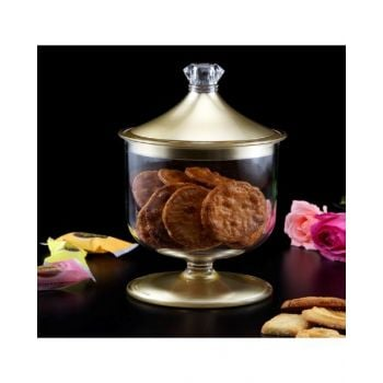 Makaan Candy Cookies Jar Small Gold M02671