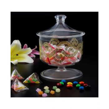 Makaan Candy Cookies Jar Large Gold M02675