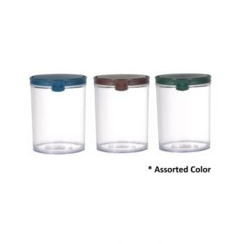 Makaan Round Airtight Food Container Jar 1.2L M02933