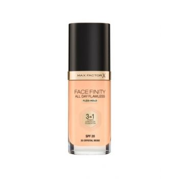 Max Factor Facefinity All Day Flawless 3-In-1 Foundation 33 Crystal Beige