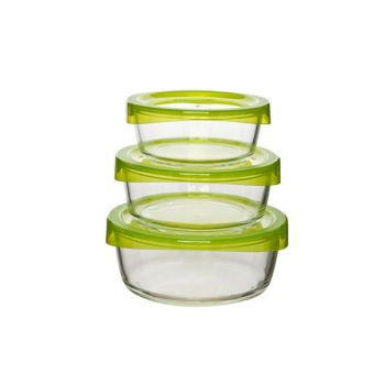 Luminarc Temp Round Keep 'N' Box 3Pc Set N0016