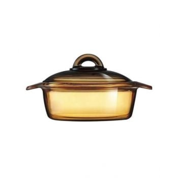 Luminarc Blooming Amberline Casserole With Glass Lid - N1605