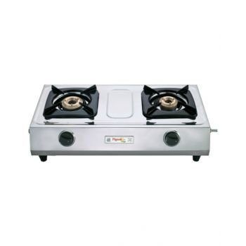 Pigeon Lpg Stove Stainless Steel 2 Br Duo Auto(E) PEG970360