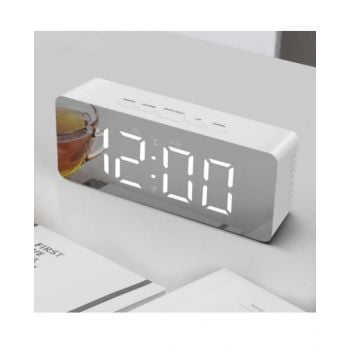 Power Led Mirror Clock PET523