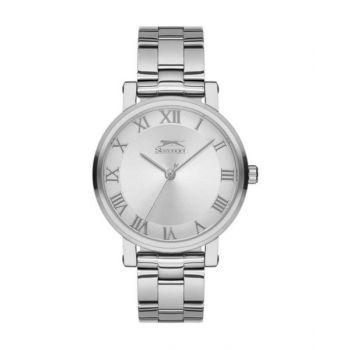 Slazenger Sugarfree Silver Dial Analog Womens Stainless Steel Watch - Sl.09.6145.3.01