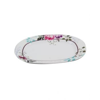 """Royal Bliss Oval Plate 12"""" Tcbls415"""