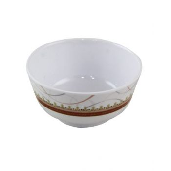 """Orchid Spring Gold Rice Bowl 4.5"""" TCSPRG417"""