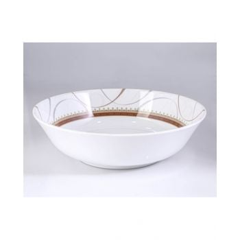 """Orchid Spring Gold Soup Bowl 8.5"""" Tcsprg424"""
