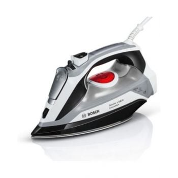 Bosch TDA70EYGB Sensixxx DA70 EasyComfort Steam Iron, 2400 W, White/Black