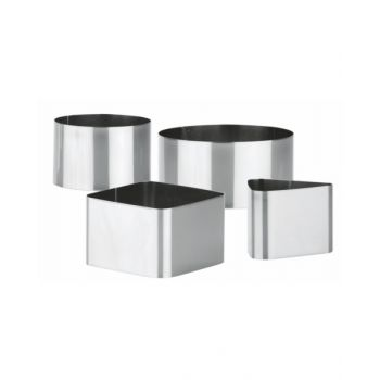 """Tescoma Food Shaping Moulds 4 Pcs """"Grandchef"""" TES428724"""