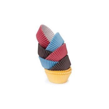 Tescoma Coloured Paper Baking Cup, 4 Cm, 200 Pcs. Delicia Tes630624