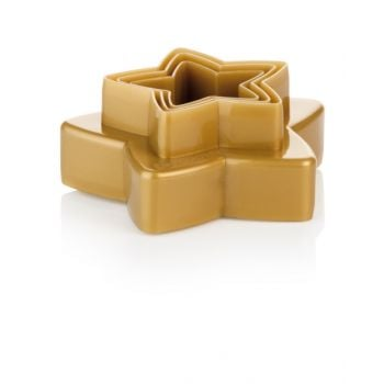 """Tescoma Double-Sides Cookie Cutters Stars, 6 Sizes """"Delicia"""" TES630864"""